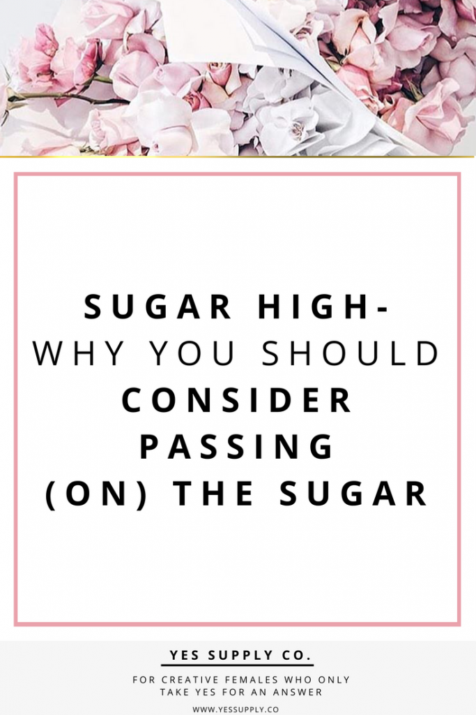 Trick or treat, What is the big deal with sugar anyways? Going on to create habits, Don't drink spare calories! For more info please check out www.yessupply.co