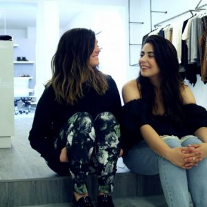 Jennifer Shotbolt and Daniela of shopcovey