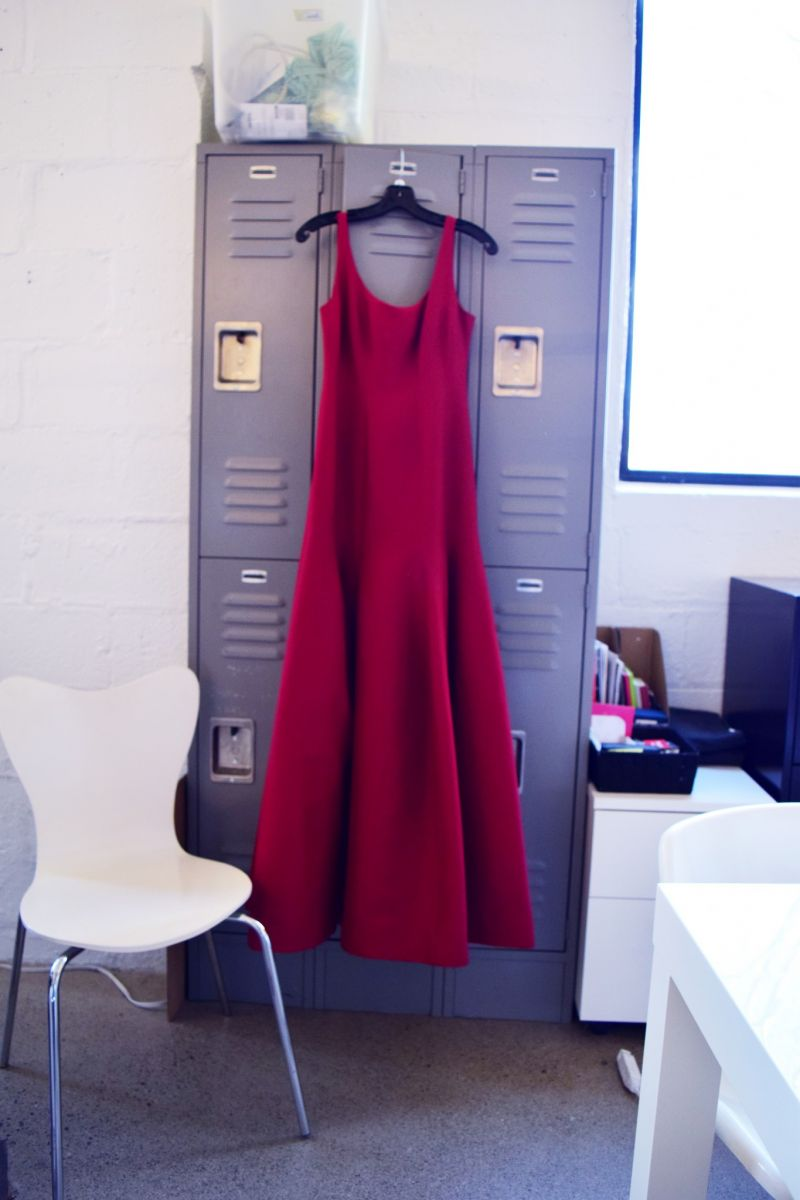 red dress locker rent frock repeat a dress in toronto gown – yes ...