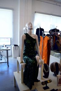 mannequin green sequin dress jewelry rent frock repeat a dress in toronto gown ottawa