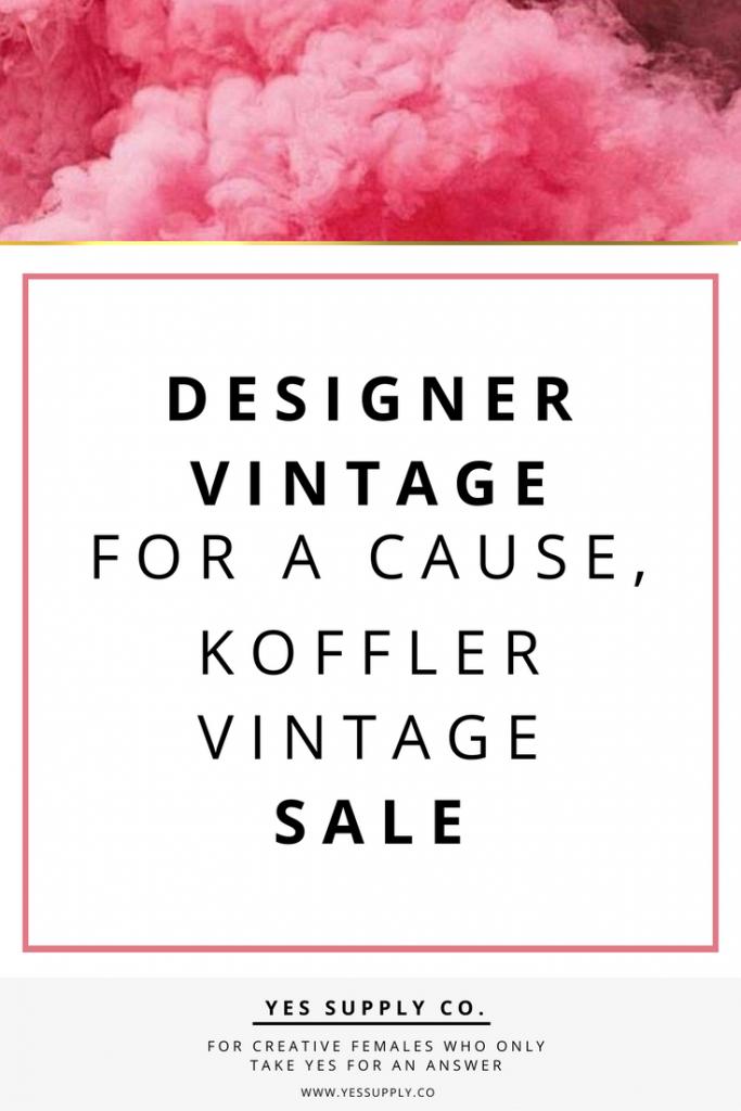 koffler vintage sale