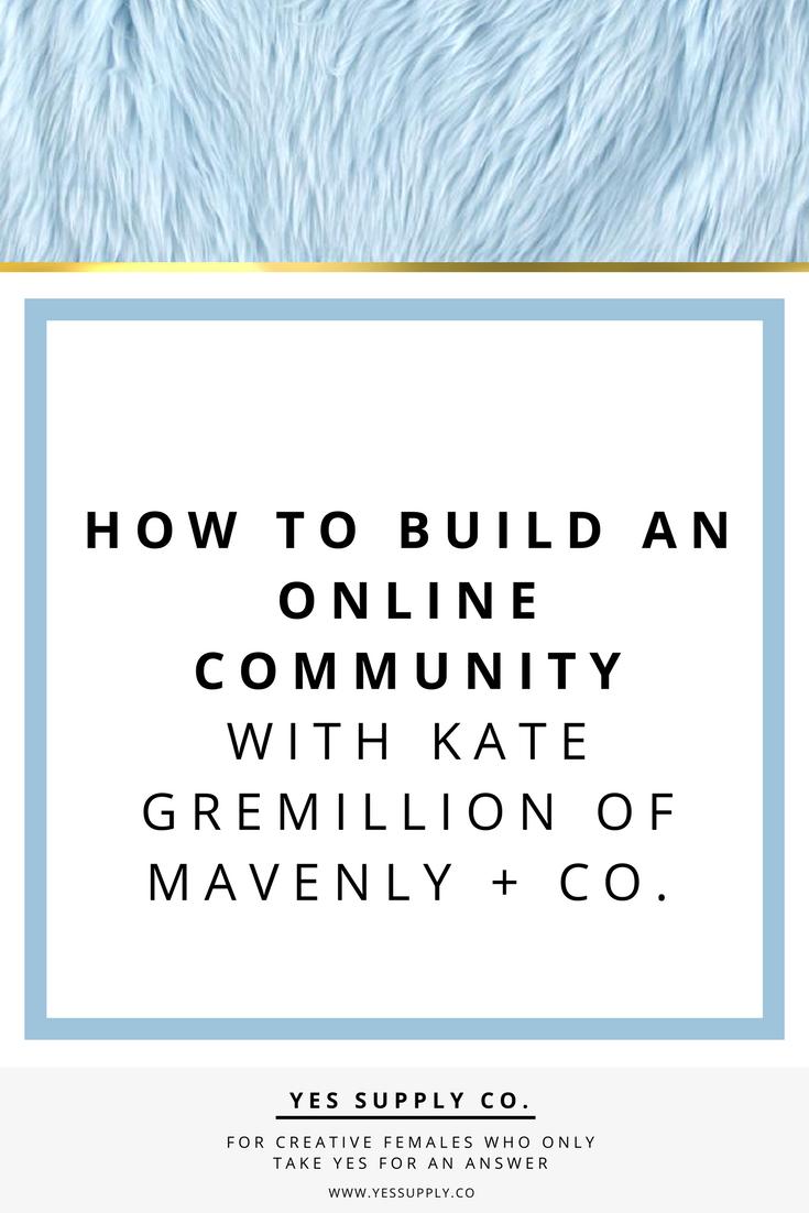 Build an Online Community
