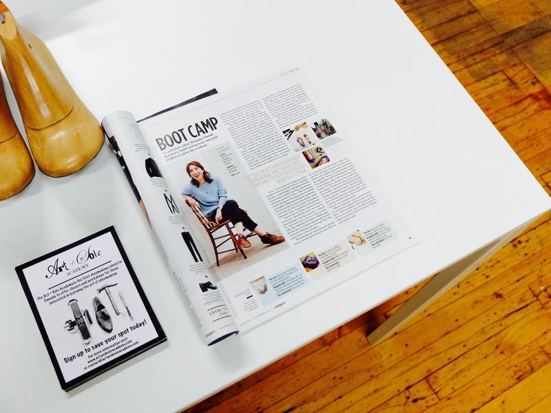 Jennifer Allison Art and Sole Academy Feature Magazine