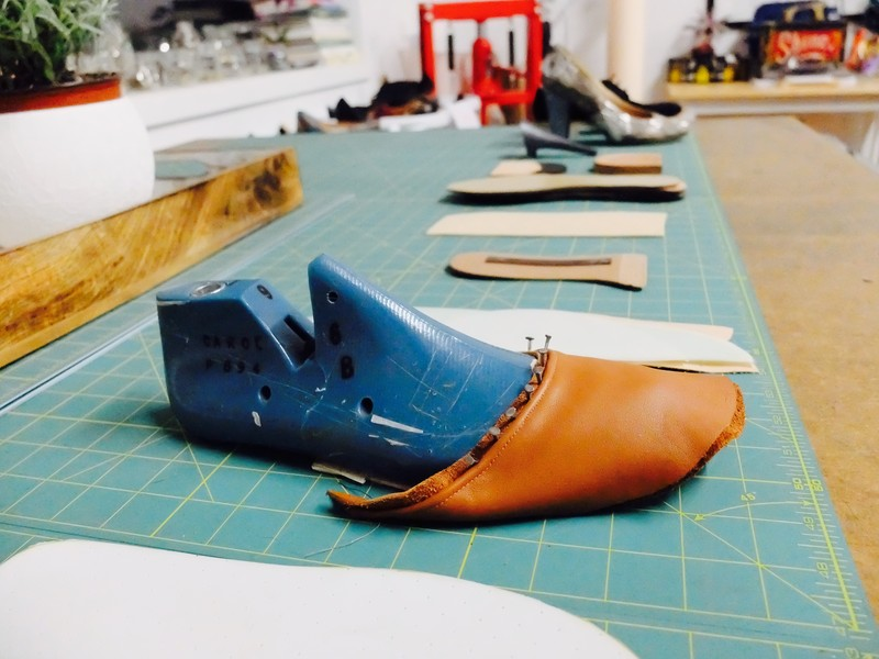 Jennifer Allison Art and Sole Academy Shoe Making Cobbler