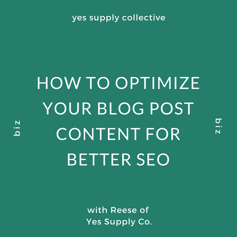 How To Optimize Your Blog Post Content For Better SEO