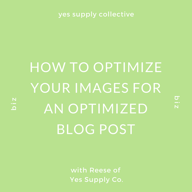 How To Optimize Your Images For An Optimized Blog Post