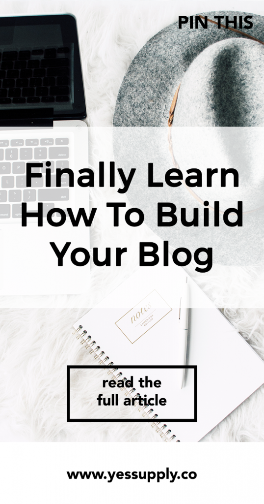 build your blog