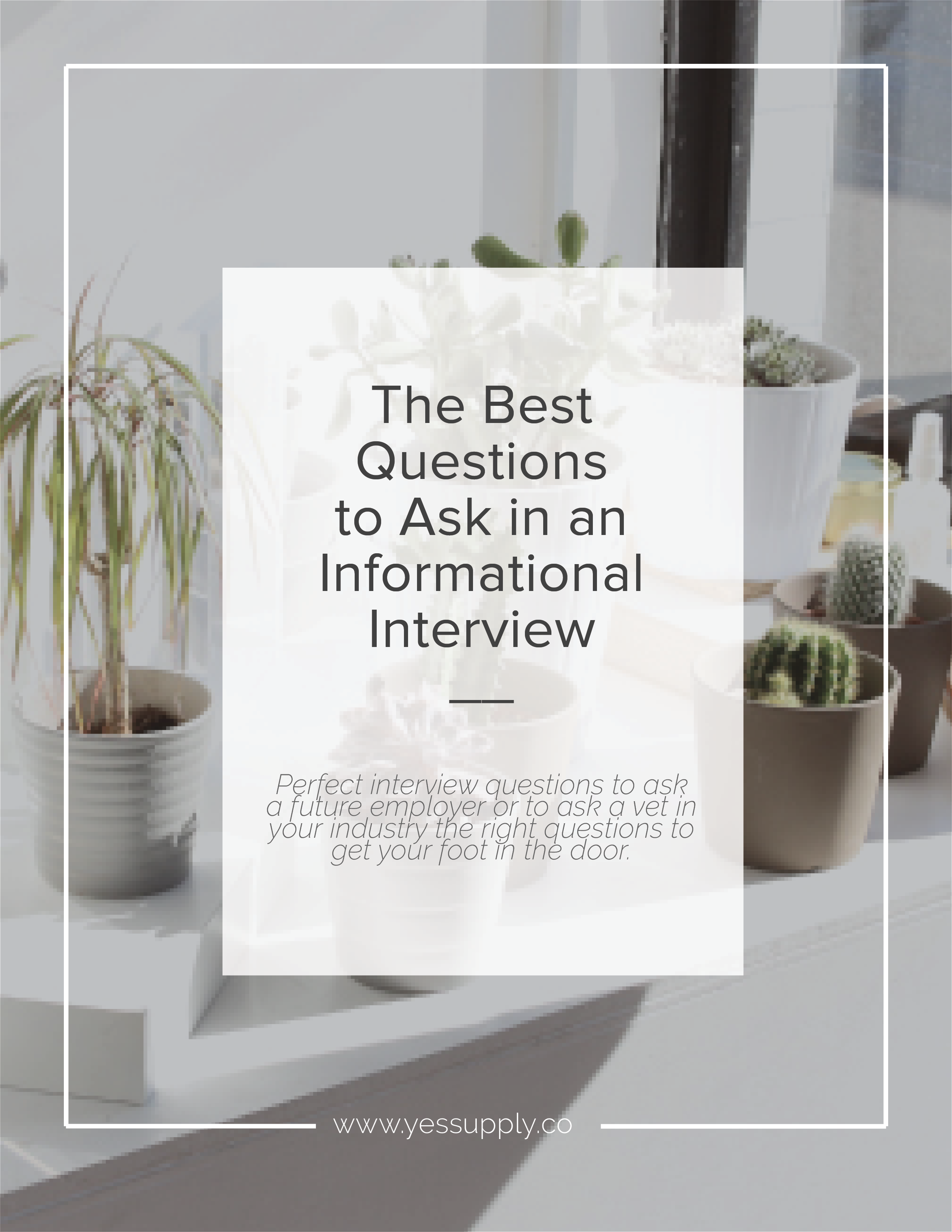 Best Questions to Ask in an Informational Interview