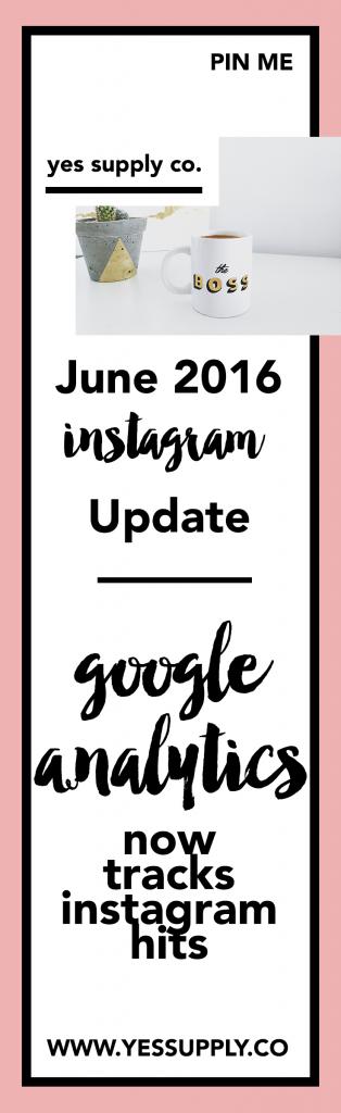 Google Analytics Clicks Instagram