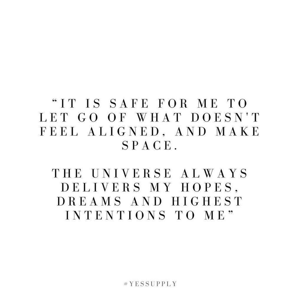 Make this your affirmation and watch magic happen. For more inspiration, quotes and tips on self-love and business for women, girlbosses, coaches, service, and freedom based business and female entrepreneurs check out www.yessupply.co