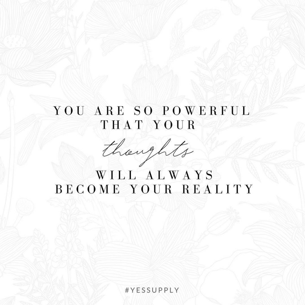 You are more powerful than you even know. Keep your focus on what you're creating, and what you want and life will keep getting better and better. For more inspiration, quotes and tips on self-love and business for women, girlbosses, coaches, service, and freedom based business and female entrepreneurs check out www.yessupply.co.