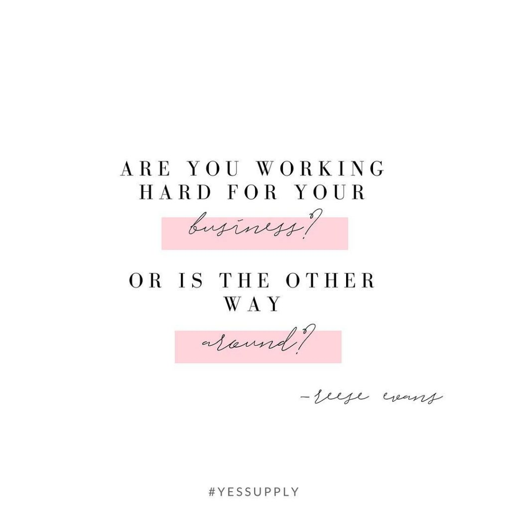 Do you find you're doing tasks that are taking up a LOT of time, but not getting you much of an impact? Then, it's time to look at ways you can systemize, automate, and delegate to make your business work hard for you, not the other way around. For more inspiration, quotes and tips on self-love and business for women, girlbosses, coaches, service, and freedom based business and female entrepreneurs check out www.yessupply.co.