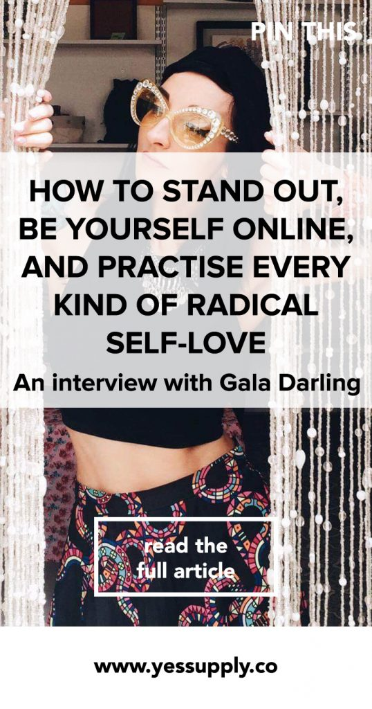how to stand out and be yourself, how to stand out online, how to practice every kind of radical self love, Learn how to stand out online