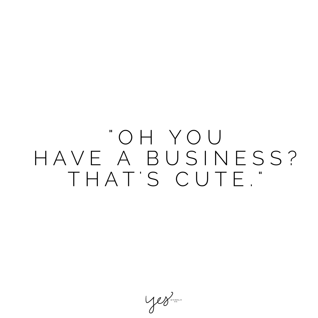 oh you have a business that's cute. For more inspiration, quotes and tips on self-love and business for girlbosses and female creatives check out yessupply.co.