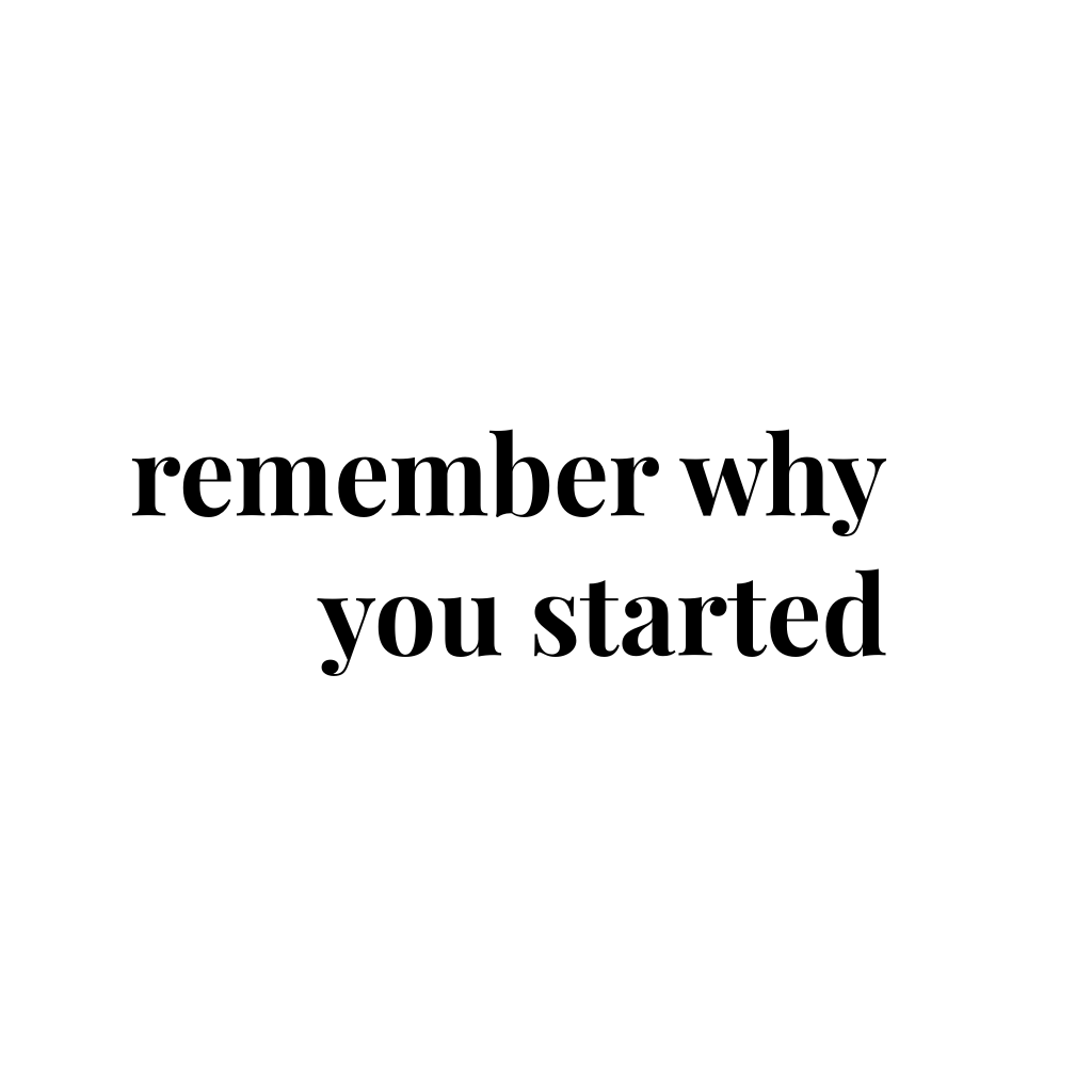 remember why you started. For more inspiration, quotes and tips on self-love and business for girlbosses and female creatives check out yessupply.co.