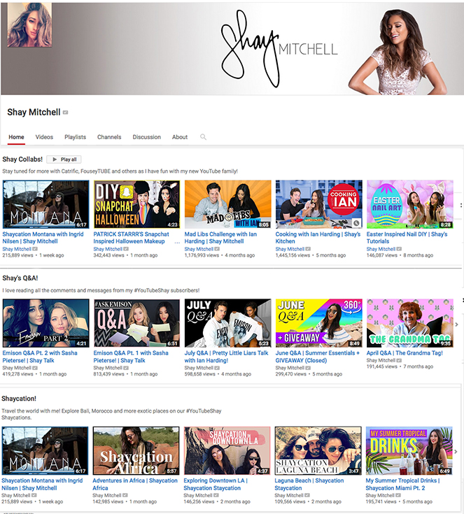 How Successful Brands Use Youtube -- Shay Mitchell