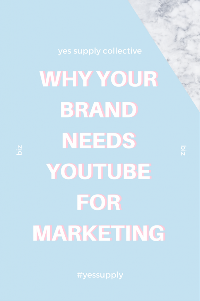 Need a solid social media marketing strategy for your #blog, business, or brand? Learn Easy, Engaging Video Content Ideas for Your Creative Business. Get more Pins from yes supply. The single most important strategy in content marketing today is video. Here's a guide to getting started on making YouTube videos for your business. Learn the exact steps to make youtube WORK for your business. How to Use Youtube Effectively to Double Your Launch Sales. How to Earn Passive Income for a Creative Online Business. Does your business need a Youtube channel? Reasons Your Business NEEDS a YouTube Channel.