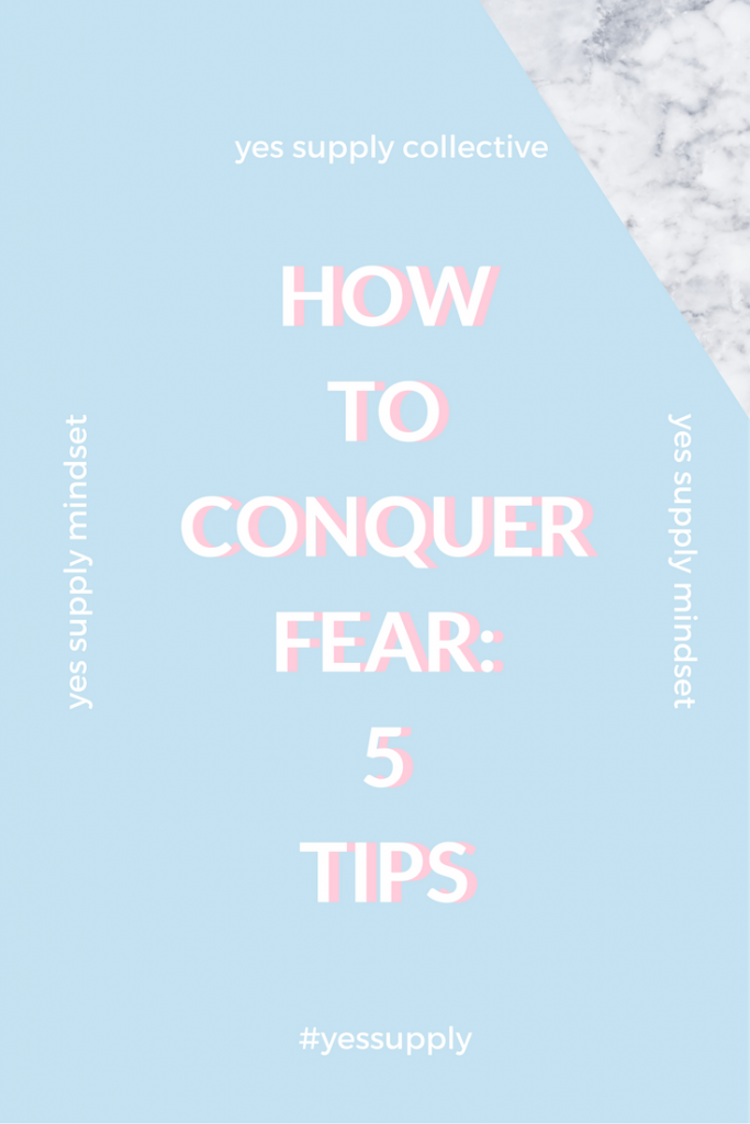 How to Conquer Fear? Fear of failing is a toxic mindset that we all have at times but it's important to push through fear so that you can be successful! Over come that self-doubt and negative self talk that is holding you back from achieving your goals. Everything you want is on the other side of fear.yourself. For more tips and tricks, be sure to comeback at yessupply.co!