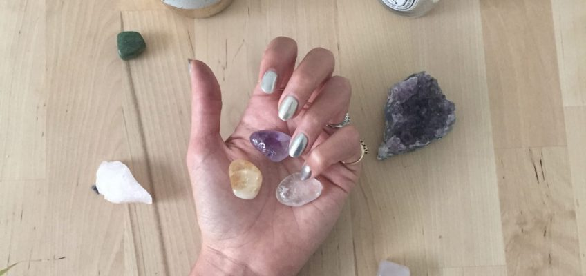 Learn how to cleanse your crystals and use them for business success and manifesting. Read our tips to use the amythst, citrine, and clear quartz to reach your financial and biz goals for girl bosses. Right now on yessupply.co