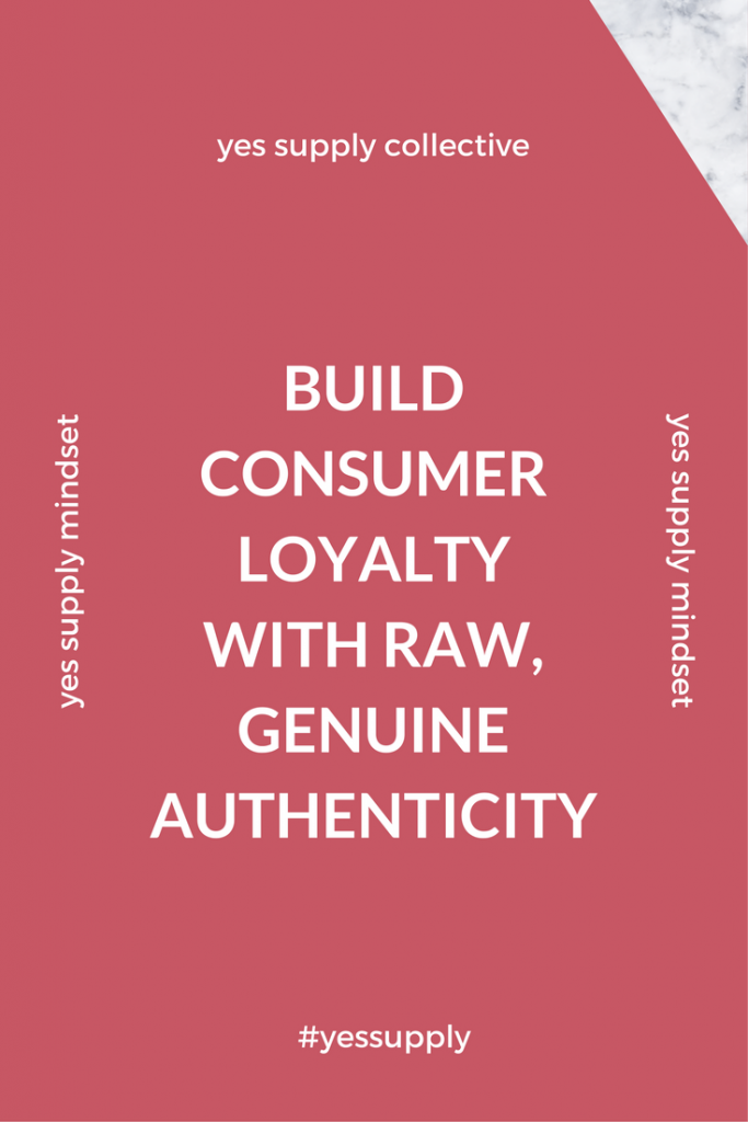 All businesses wants to Build Consumer Loyalty with Raw, Genuine Authenticity.  But how does one build customer loyalty when consumers constantly have price, selection and convenience on their minds?  In this blog post, Tiffani J. Purdy will teach you how to Build Consumer Loyalty with Raw, Genuine Authenticity.  What are the benefits it reaps for inspiring the loyalty of its customers? You'll learn how to get your customers to build loyalty with your brand for long term business. Find out how to Build Customer Loyalty the Right Way. For more tips and tricks, be sure to comeback at yessupply.co!