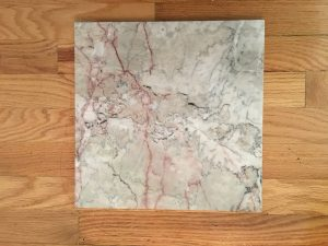 Can you believe this gorgeous marble 1'x1' slab was less than $2??