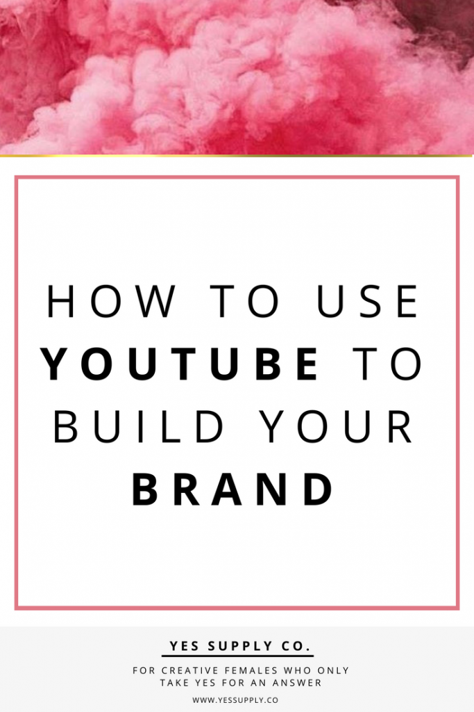how to build a brand on YouTube, expand your influence? Videos can can have major impact on your business. In this article will helps entreprenuer, girlboses. Entrepreneurs, female business owners, girlboss, bossbabe. Use these branding tips to help promote your youtube channel videos. Go and read www.yessupply.co
