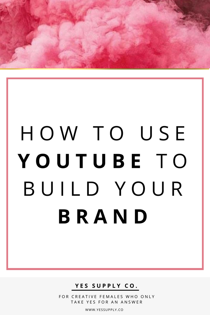 how tobuildabrandonYouTube, expandyourinfluence? Videos can can have major impact on your business. In this article will helps entreprenuer, girlboses. Entrepreneurs, female business owners, girlboss, bossbabe. Use these branding tips to help promote your youtube channel videos. Go and read www.yessupply.co