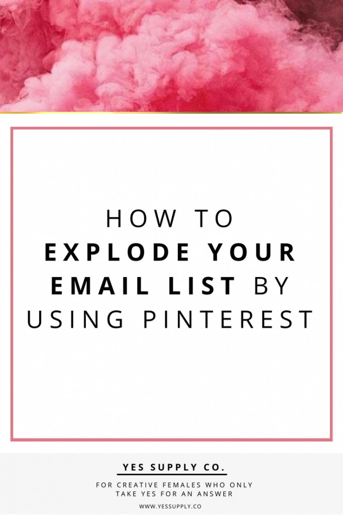 Grow your list! Your list is the most important asset to your business!! So you're like. Ok that's cool There are several ways to grow your email list using Pinterest. This article will helps entreprenuer, girlboses. Entrepreneurs, female business owners, girlboss, bossbabe. Repri and save for this later.