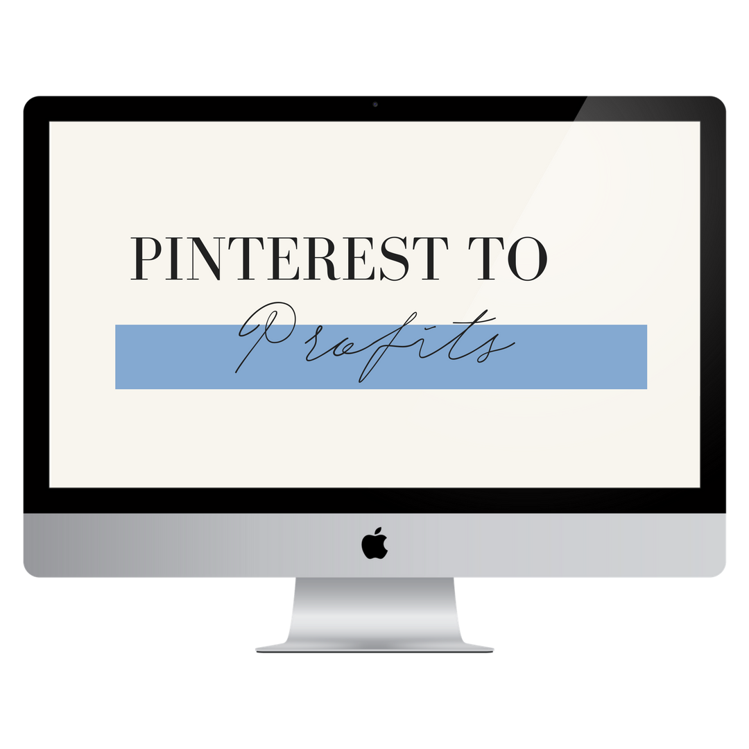 PINTEREST TO PROFITS course by YES SUPPLY