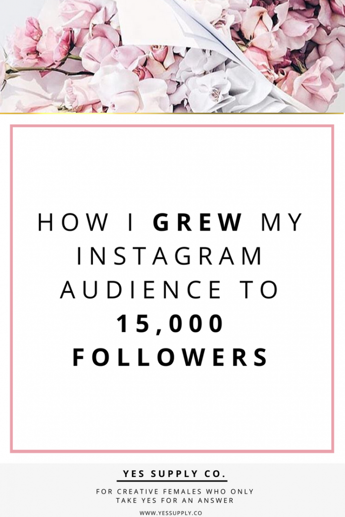 How I got 15000 Instagram Followers - The tactics that I used to grow my Instagram following from 0 to 15000. Instagram is the fastest growing social network in the world. I want to tell you exactly how I built my Instagram audience from having just a couple hundred. Here are some tips for engaging your target audience. Make sure to visit website www.yessupply.co