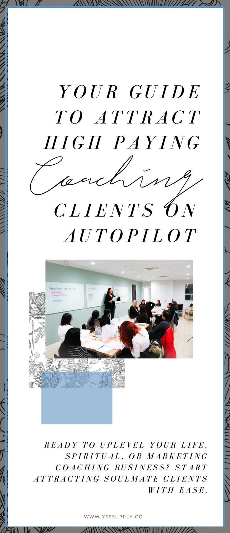 Have you ever imagined what it would be like to attract high-ticket clients? Become a coach, and get paid your worth with these techniques for wealth. What would that do for you if you were able to pull in multiple new clients a month who were paying you thousands of dollars for you to do work that you love to do? Would you FINALLY be able to quit that job that you're so over? Would you be able to create enough freedom to travel the world doing work that you're passionate about? If you're a spiritual coach, consultant, business coach, mindset coach and you want high ticket clients to easily be able to book a call with you, this ultimate guide will be incredible for you!