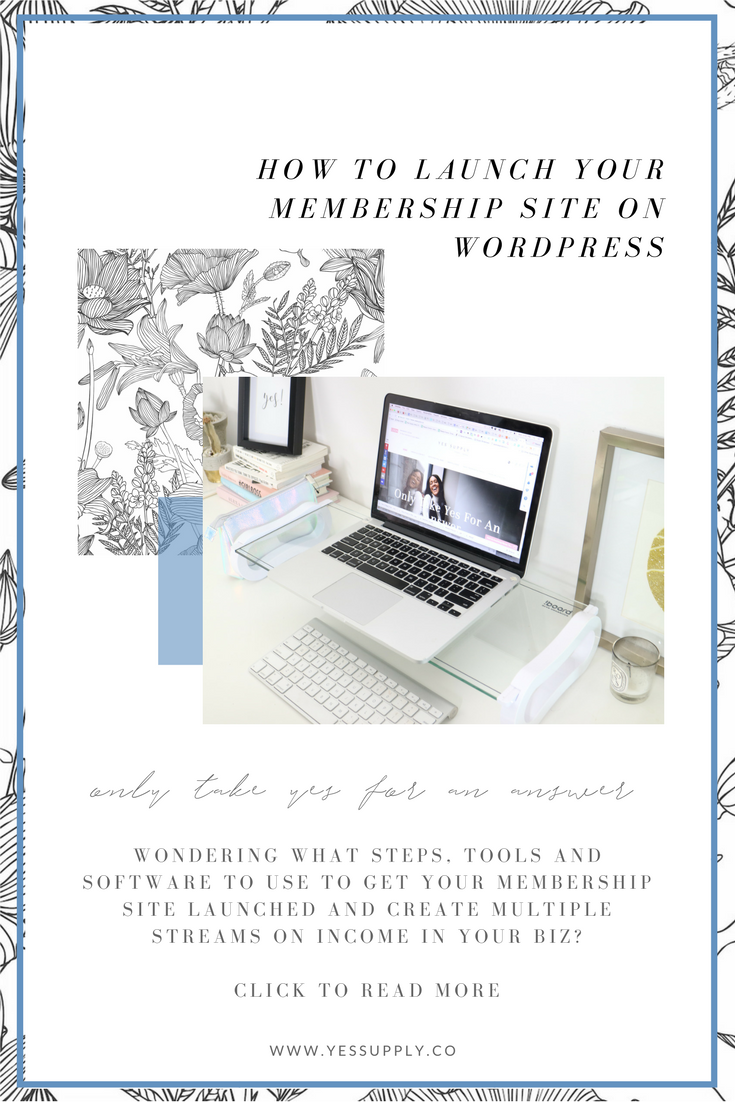 How to launch your membership site
