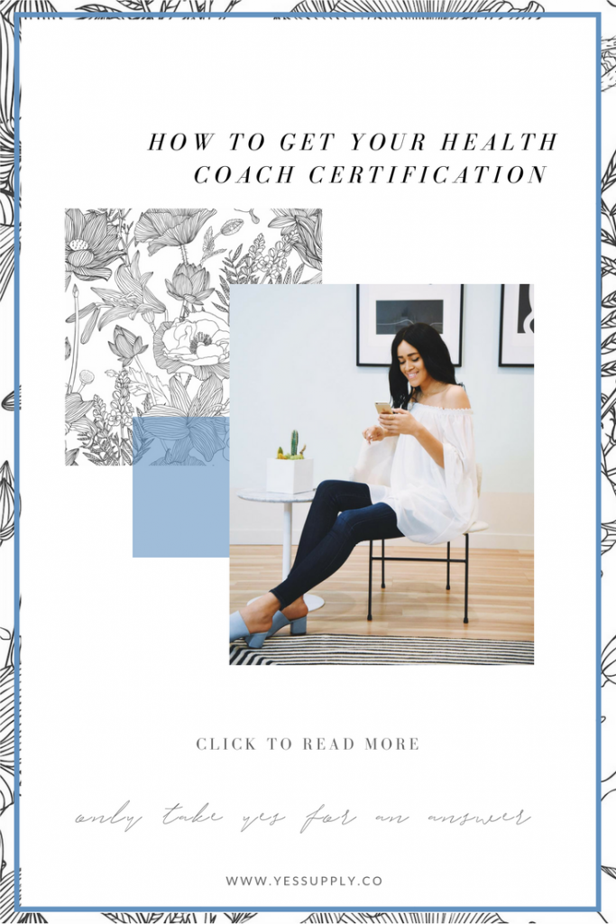 How To Get Your Health Coach Certification- www.yessupply.co