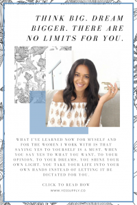Wondering how to say YES to yourself? In this article, I'll show you when to say YES to what you want, to your opinion, to your dreams. This is perfect for you if you are a coach, consultant, blogger, instagrammer, business owner, millennial, entrepreneur, female, funny, famous, beautiful, young, women, teen, blonde. Learn new inspiration, ideas, truths, thoughts, tips, that will help you! Repin to save for later and head to www.yessupply.co to read and watch.