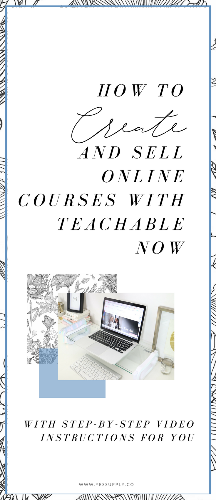 Ever wanted to create your own online course, and make passive income from sharing your knowledge and gifts. It's possible for you to create a 6 or even 7 figure business, selling course and digital products is a multiple billion dollar industry. Learn how to launch your online business with teachable as I walk you through step by step how to make it happen and make it simple for you to make money online doing what you love to do creating success from a freedom based business laptop lifestyle.