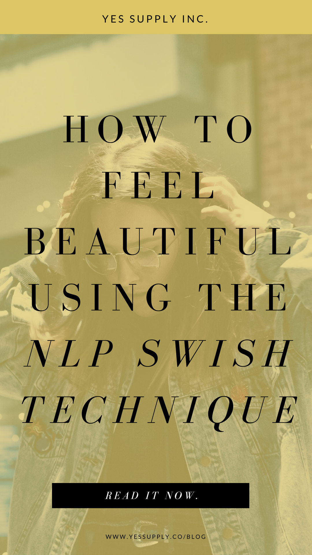 Want to truly feel beautiful but nothing is working? I know that I felt bad about myself until I discovered an NLP technique that helped me love who I am, and see my own beauty and practice self-care.