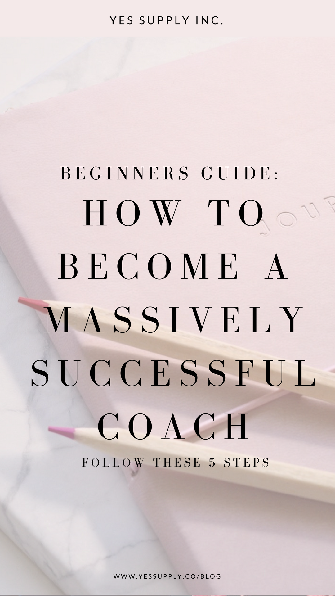 Wondering how to become a successful coach? If you want to become a coach, a spiritual coach, mindset coach, or success coach? Read on and I'll show you the steps to get there! Read more about launching your coaching business at www.yessupply.co