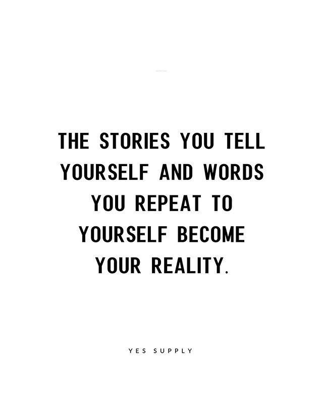 stories you tell yourself ob negative thoughts