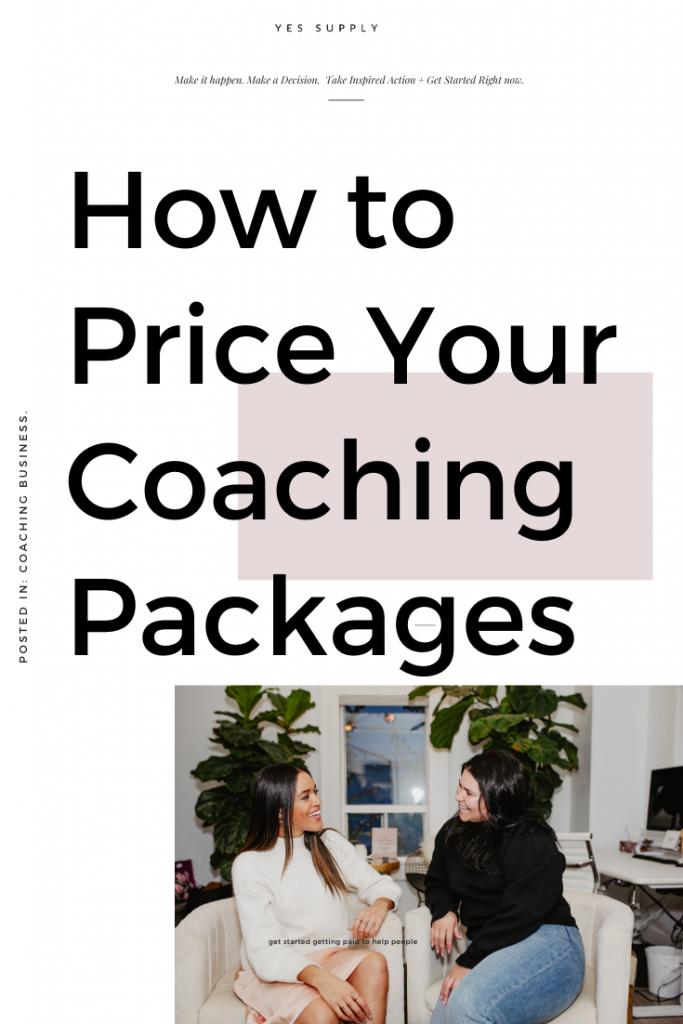 price coaching