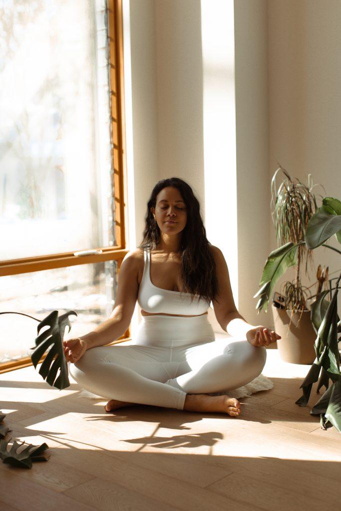 Reese Meditating