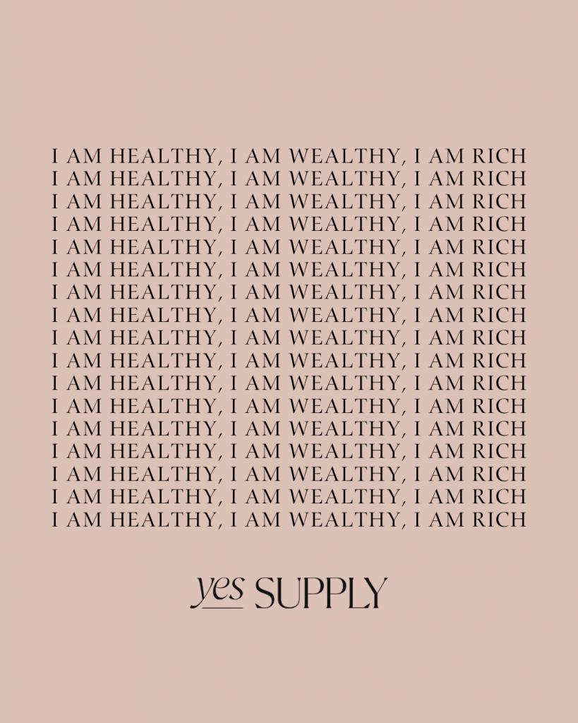 I am Wealthy